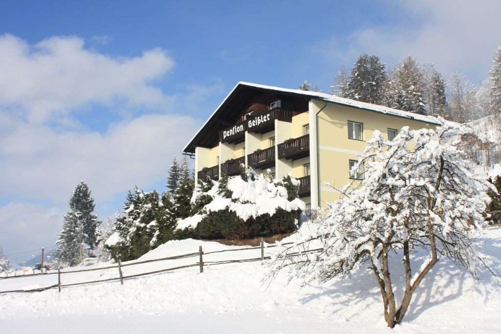 Die Pension Geissler in Oberwölz im Winter